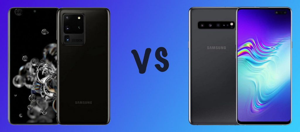 Samsung Galaxy S20 Ultra VS Samsung Galaxy S10 Plus